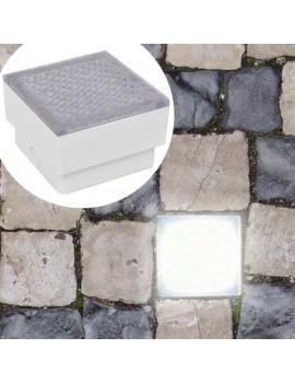 2 x LED floor downlight 100 x 100 x 68 mm