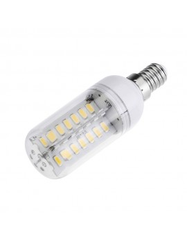 E14 6W 5630 SMD 56 LEDs Energy Saving Corn Light  Lamp Bulb 360 Degree Warm White 200-230V