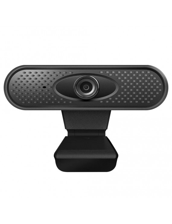 1080P Full HD Webcam with Video and Built-In Stereo Microphones for Desktop or Laptop Webcam