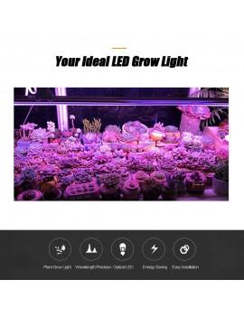2-Pack LED Grow Light Strips 5W T5 Tube LED for Plants High Output Grow Lights for Greenhouse Plant Grow Shelf US Plug