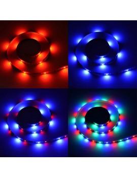 DC5V 0.6W 1M 60 LEDs RGB Strip Light with Remote Control