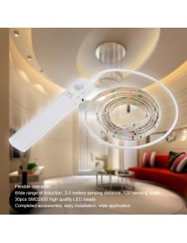 1M 30LEDs Sensitive PIR Motion Sensor Cabinet Strip Light with Remote
