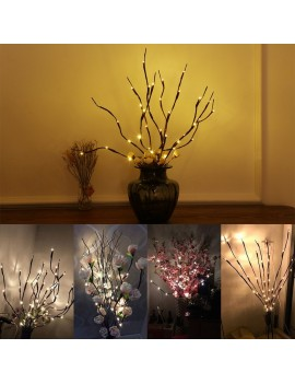 2 Pack 20 Twig Willow Branches Design LED Light