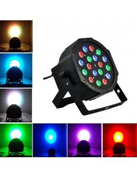 18W 18-LED RGB Stage Light