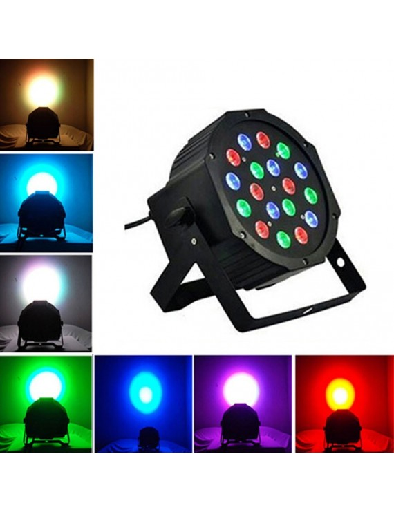 18W 18-LED RGB Stage Light