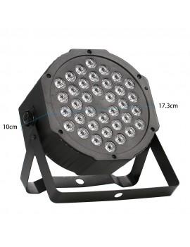 36LED 36W 7Channel Mini High Bright RGB Wash Effect Stage Lamp