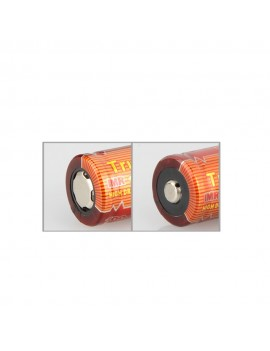 TrustFire 2PCS 18350 700mAh 3.7V IMR Rechargeable High Drain Battery for Electronic Smoke Flashlight