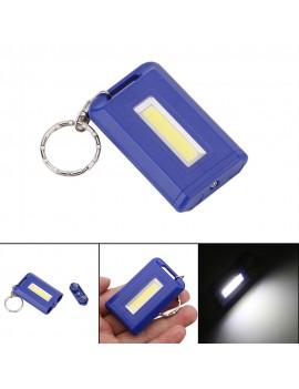 Portable COB Mini Keychain Flashlight