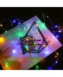 Portable USB Charge INS Stars Of Heaven Decoration Flashing 5 Meters 50 Bulbs 8 Light Functions Copper Wire String Light With Remote Control