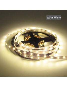 LED Strip Lights 5M 3528 300LEDs Light Strip Flexible LED Night Light LED Christmas Lights Nonwaterproof LED Rope Lights LED Tape Light for Bar DC 12V Warm White