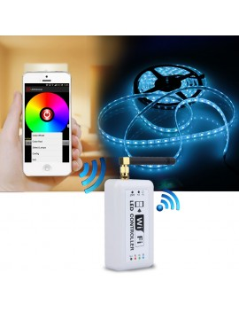 Docooler Wireless RGB Wifi LED Strip Controller for iOS iPhone Android Smartphone Tablet
