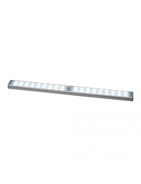 Cabinet Lights PIR Motion Sensor Lights USB Rechargeable 36 LEDs Cabinet Lighting Magnetic Removable Stick-On Lamp for Closet Wardrobe Drawer Cupboard White Light
